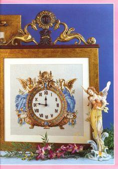 Cross Stitch Clock - Cover - Gallery.ru / Фото #118 - Отшитые схемы 1 - livadika