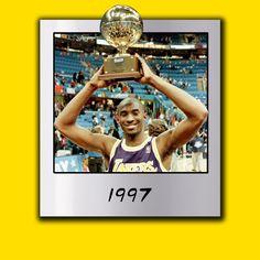 Kobe Bryant Dunk Champ - Polaroid Moment 1997 #kobe #lakers #la #slamdunk