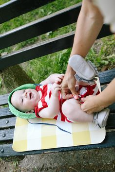 Love Taza for Let's Playground // Gingham bonded leather baby changing mat. Baby Changing Mat, Diaper Changing Pad, Picnic Blanket, Outdoor Blanket, Bonded Leather, Playground, Gingham, Indoor Outdoor, Goals
