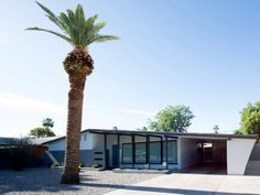 Renovation in Phoenix by Cavin Costello of The Ranch Mine. Schreiber designed home.