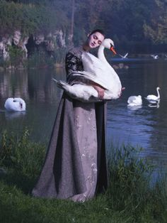 Magda Laguinge by Jumbo Tsui for Harper's Bazaar China December 2013