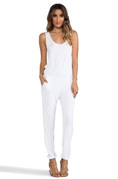 87709355bd31 Shop for NBD x Naven Twins Take A Bow Jumpsuit in Optic at REVOLVE. Free  day shipping and returns