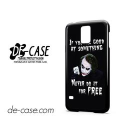 Joker Quotes DEAL-5943 Samsung Phonecase Cover For Samsung Galaxy S5 / S5 Mini