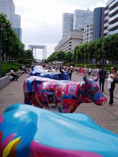 Cow Parade 2006 by tarnouche, via Flickr