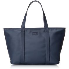 6370a181595bb Lacoste Women s Classic Large Shopping Bag ( 158) ❤ liked on Polyvore  featuring bags