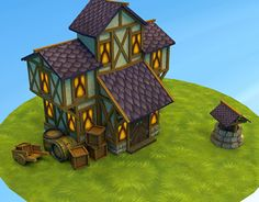 "Check out new work on my @Behance portfolio: ""Medieval House"" http://be.net/gallery/54155577/Medieval-House"