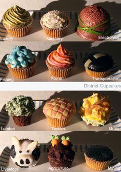 district cupcakes