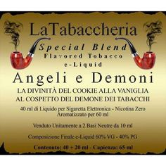 La Tabaccheria Special Blend 60 ml Bundle Angeli e Demoni (Nicotina 6 mg) — SVF.1019