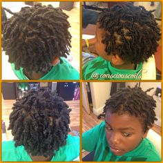 Style: Loc Retight (starter locs)  Hair Added: NA Products Used: Coiled! (Original Refresher Spray and Loc Gel) by Conscious Coils Time: 1hr 35mins Style Duration: Retight every 4-5weeks (recommended until locs bud)