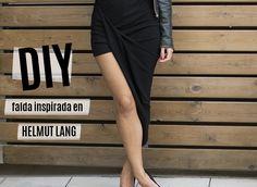 Повтор своими руками ассиметричной юбки от Helmut Lang