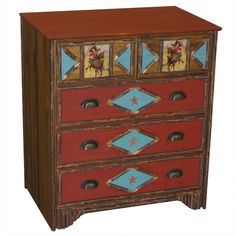 western painted furniture - Google Search