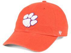 c0dfe70f35e11 Clemson Tigers  47 NCAA  47 CLEAN UP Cap Clemson Tigers
