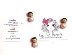 Puce Waterproof Nacr� (12 mm) : LeS PoiS PlumeS, la boutique