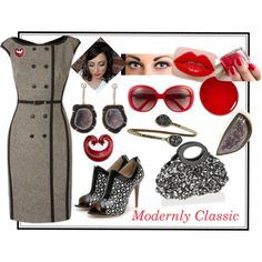 Modernly Classic, created by ybello75 on Polyvore