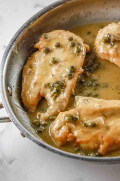Make a dinner the whole family will love with this recipe for Easy Classic Chicken Piccata. This classic meal is a staple and remains a classic for a reason!