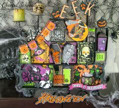 Chan's Crafty Things: Decorating for Halloween!