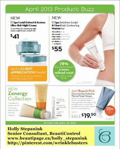 BeautiControl April 2013 Product Buzz. #skincare #spa