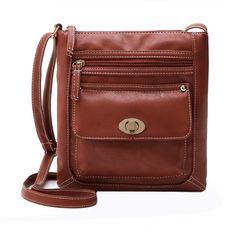2a3d4bc9a92f Small PU Leather Handbag Vintage Shoulder Bag Famous Designer Women  Messenger Bag Fashion Female Crossbody Bags Mini Handbags-in Crossbody Bags  from Luggage ...