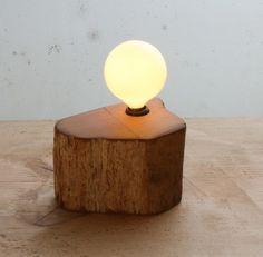 Redwood cross section fragment light.