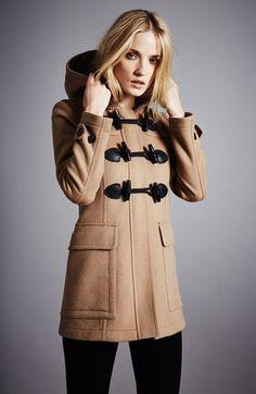 Burberry Brit duffle coat http://rstyle.me/n/sueszr9te