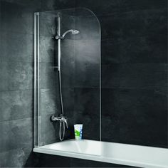 Schulte Einfach ohne Bohren Duschwand 1-teilig