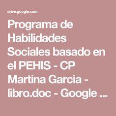 HABILIDADES SOCIALES PARA ADOLESCENTES Y ADULTOS CON TEA - Infosal ...