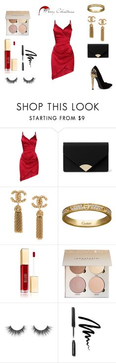 """Christmas Eve"" by nickey-mouse on Polyvore featuring MICHAEL Michael Kors, Cartier and Bobbi Brown Cosmetics"
