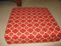 another diy ottoman tutorial