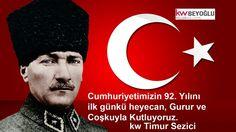 Cumhuriyet Bayramınız Kutlu Olsun.