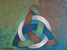 Trinity Photo and painting by Rachel Munoz Striggow