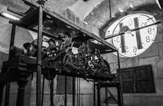 Maquinaria del Reloj de la Catedral de Murcia.