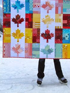 Oh Canada! PDF Quilt Pattern + A Month of Sundays from Cheryl Arkison