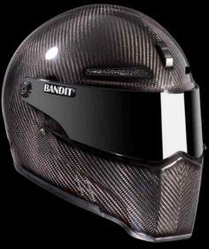 bandit XXR carbon fiber motorcycle helmet