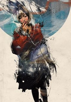 Russ Mills AKA Byroglyphics started making images straight after leaving University in His style is in a transition from illustration to a more fine art Psychedelic Art, Heart Art, Urban Art, Figurative Art, New Art, Amazing Art, Graphic Art, Concept Art, Cool Art