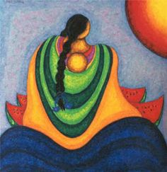 Acrilic Paintings, Watercolor Paintings, Bohemian Wall Tapestry, Peruvian Art, Sea Glass Crafts, Southwest Art, Beginner Painting, Mexican Folk Art, Native Art