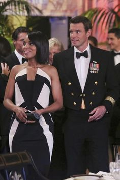 The gown that showed Olivia's strength. | Inside Olivia Pope's Closet let's be real, i want this entire wardrobe.