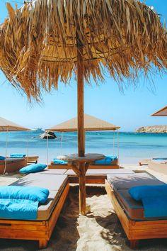 Kalua Paraga Beach, Mykonos Greece