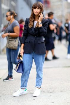 How Street Style Stars Are Putting Comfort First at the Shows | The Zoe Report