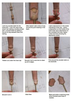 After all these years I finally found a better BJD tutorial than the badly translated one from 2008 I saw. Sculpting Tutorials, Doll Making Tutorials, Making Dolls, Doll Crafts, Diy Doll, Art Doll Tutorial, Biscuit, Marionette, Polymer Clay Dolls