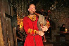 Средневековое шоу в корчме  U Pavouka