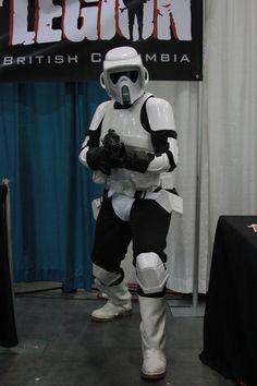 501'st scout trooper Vancouver, Darth Vader, Batman, Fan, Superhero, Fictional Characters, Fantasy Characters, Fans, Computer Fan