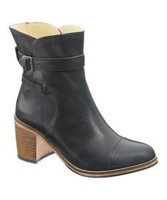 This Black Bonny Leather Boot is perfect! #zulilyfinds
