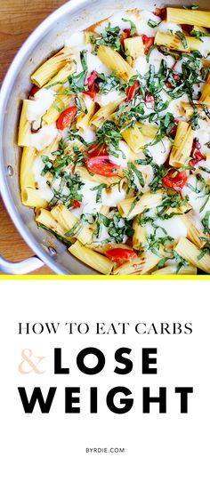 How to eat carbs and lose weight for a healthy diet. (via @byrdiebeauty)