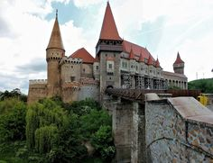 The Huniad Castle is a Gothic-Renaissance castle in Hunedoara , present-day Romania. It has once belonged to Hunyadi dynasty has survived fire and neglect but was restored and renovated by modern architects in Gothic style. The castle is believed to be a prison of seven years for Vlad III of the Wallachian empire a.k.a Dracula.  Photo credit - Todor Bozhinov