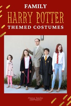 Harry Potter costume ideas for the entire family, including some great DIY hacks. We have something for everyone! #harrypotter #costumes #DIYcostumes #potterheads #DIY #halloween