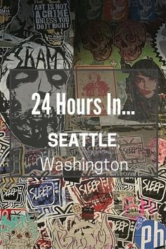 From grunge bars, to Pike Place Market; from Bainbridge Island to finding nirvana, Seattle has it all.  Join us on our '24 hours in Seattle' binge trip.