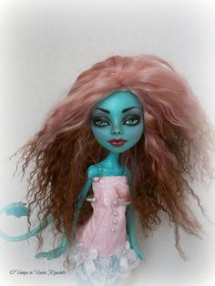 Piper OOAK Monster High Lorna McNessie Nude Doll