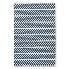 http://www.target.com/p/stonewash-bath-rug-navy-cream-threshold/-/A-50894852 click on the link for the real rug. Pinterest is being stupid...