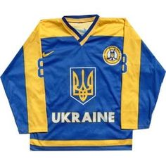 Hockey Sweater, Sports Uniforms, Ukraine, Play, Sweaters, Jackets, Tops, Fashion, Ice Hockey