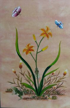 Korean Painting, Google Images, Embroidery Patterns, Butterfly, Tumblr, Plants, Inspiration, Flower, Opera